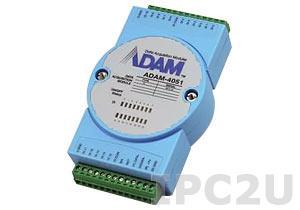 ADAM-4051-BE Модуль ввода, 16 каналов дискретного ввода с изоляцией и индикацией, Modbus RTU/ASCII
